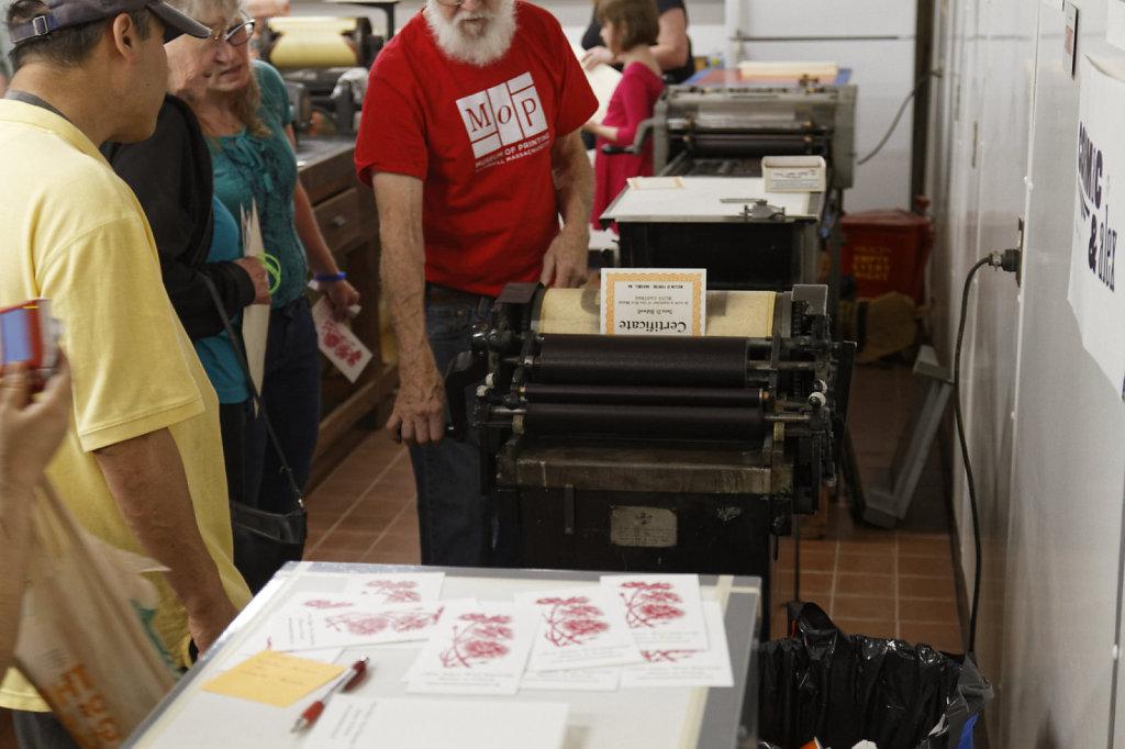 MoP Printing Arts Fair 2017