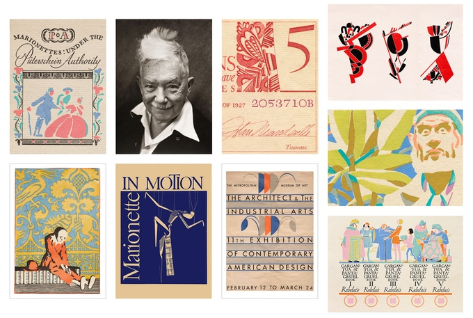Samples of Dwiggins's work